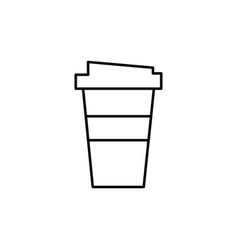 Fast cofee icon vector