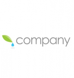 natural care logo spa salon vector image