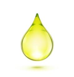 oil drop vector image vector image
