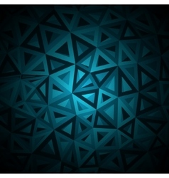 diamonds triangle abstract pattern vector image