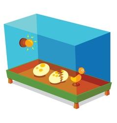 Egg incubator vector