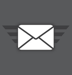 Icon envelope vector