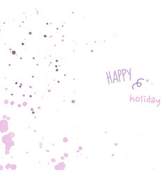 pastel smooth light pink purple shades splatters vector image