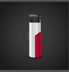 Poland cigrette lighter design vector