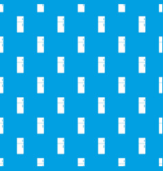Refrigerator pattern seamless blue vector