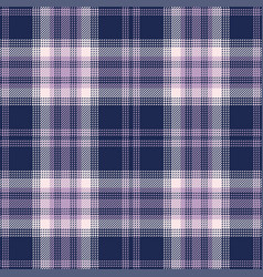 Seamless purple plaid pattern vector