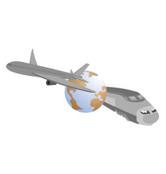 Speed travel vector