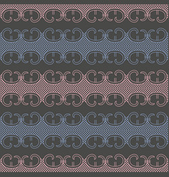 abstract lace seamless pattern vector image