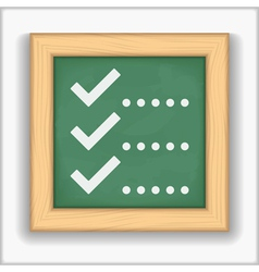Check List Icon vector image vector image
