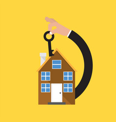 home buying conceptual vector image vector image