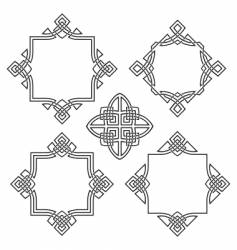 four frames vector image vector image