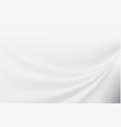 Abstract white smooth motion background vector