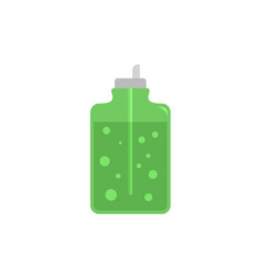 aloe vera soap icon flat style vector image