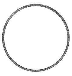 Ancient greek frame vector