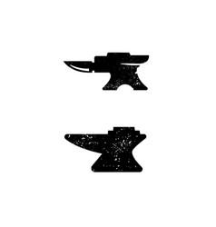 blacksmith metalworks logo design inspiration vector image