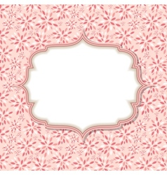Cute Pink Frame vector