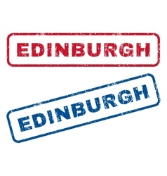 Edinburgh Rubber Stamps vector