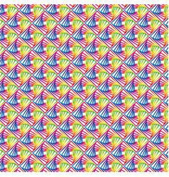 Geometric rainbow black and white gradient vector
