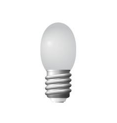glowing lighten bulb vector image