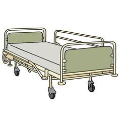 Hospitalbed vector image