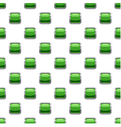 Light green square button pattern vector