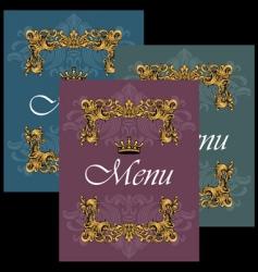 menu28 vector image vector image