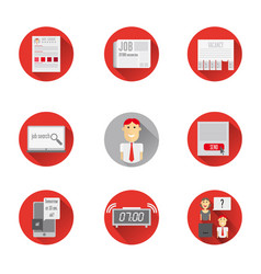 icons search vector image vector image