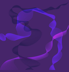 Abstarct in purple colours vector