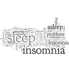 Can t get enough on insomnia vector