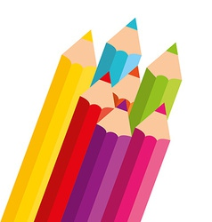 Colors pencils vector