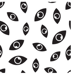 eye seamless pattern background business flat vector image