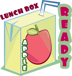 Lunch Box Ready vector