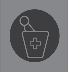 pharmacy symbol vector image