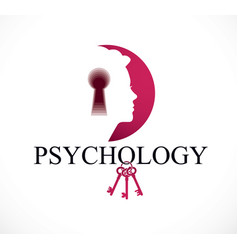 psychology and mental health concept created with vector image