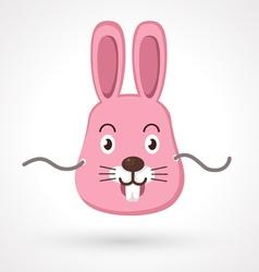 Rabbit mask vector