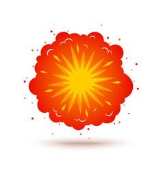 Retro a explosion vector