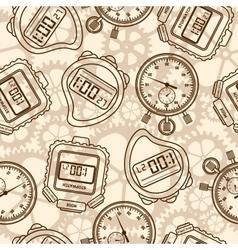 Stopwatch Seamless vector