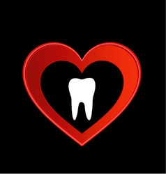 Tooth graphic vector