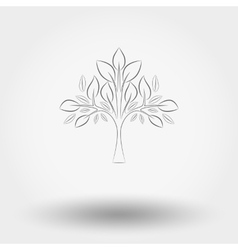 Tree Line vector