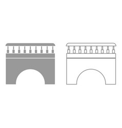 bridge it is black icon vector image