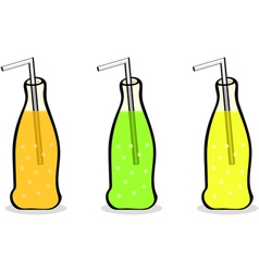 Soft drinks vector image vector image