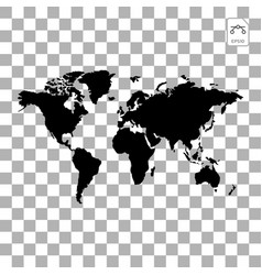 Earth globes isolated on white background flat vector