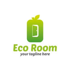 Eco Room Logo vector image