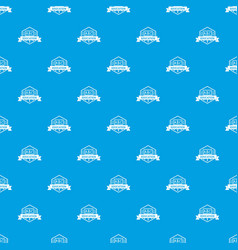 education pattern seamless blue vector image