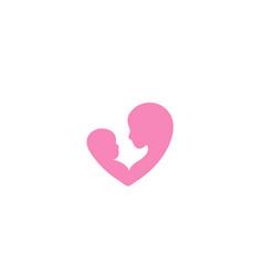 Family love design logo vector