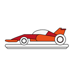 Formula 1 racing car vector