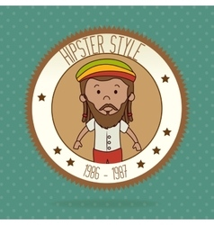 Hipster lifestyle and fashion accesories vector