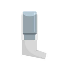 Inhaler icon flat style vector