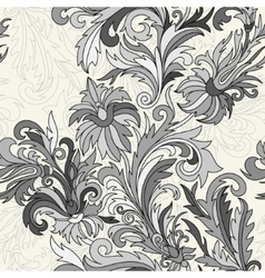 Seamless pattern Hand drawn doodle style vector