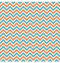 colors chevron pattern background retro vintage vector image vector image